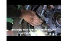 Adjust the Gap between Die and Rollers for Vertical Ring Die Pellet Mill TY550 Video