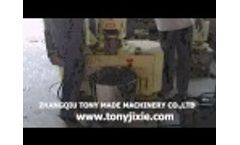 30kw-300-500KG/H Flat Die Pellet Machine SKJ350--8mm Video