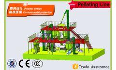 Model 5T/hour - Stereoscopic Feed Pellet Plant