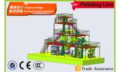 Model 10T/hour - Stereoscopic Feed Pellet Plant