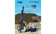 Model HCR900 Series II - Rock Top-Hammer Drills -Brochure