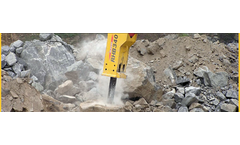 Magnum - Model RHB370 - Hydraulic Breakers for Mini-Excavators and Skid Steers