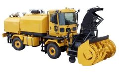 Model MB4 - Front Mount Snow Blower Chassis