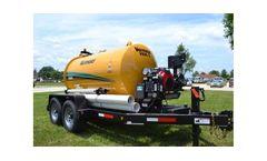 McLaughlin - Model V25 & VX30 - Gas Series Trailer Vacuum Excavators