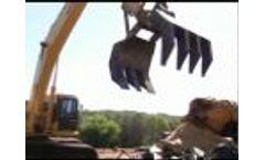 Excavator Grapple Video