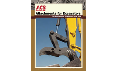 ACS Excavator Attachments Overview
