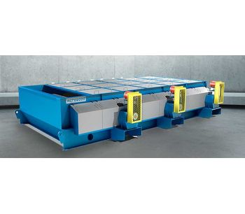 Acrowood - Raised Roll Disc Thickness Screen