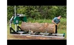 Woodland Mills HM130MAX Anniversary Edition Portable Sawmill - Overview (2020) - Video