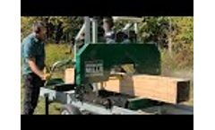 Woodland Mills HM126 Woodlander™ Sawmill - Overview (2020) - Video