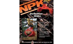 NPK - Demolition Grabs - Brochure
