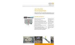 Mainstream - Model QT001 - AV-Flow Transmitter - Brochure