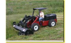 Power Trac - Model PT-1460 - Attachments 2,400 lbs. Lift Capacity