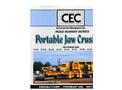 CEC - Model 30 x 42 - Portable Jaw Crusher Brochure