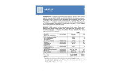 Geotex 2130 Product Data Sheet
