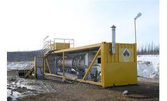 NPO Dekanter - Model TDP Factor-500 - Thermal Destruction Plant