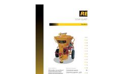 REED - Model SOVA - Dry-Mix Shotcrete Gunite Machine Datasheet