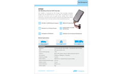 Concox - Model GT06E - 3G Multifunctional GPS Tracking Device - Leaflet