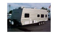 Model FCB Front Bed - Fun Runner Trailers