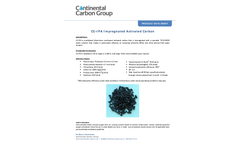 CCG - Model CC-IPA - Impregnated Activated Carbon  Brochure