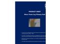 Ateco - Foam Log Primary Seal Datasheet