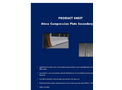 Ateco - Compression Plate Secondary Seal Datasheet