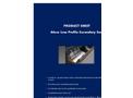Ateco - Low Profile Secondary Seal Datasheet