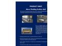 Ateco - Floating Suction Unit Datasheet