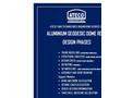 Ateco - Aluminium Geodesic Dome Roof General Design Phase Information Datasheet