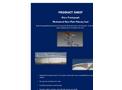 Ateco - Pantograph  Mechanical Shoe Plate Primary Seal Datasheet