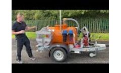 Bespoke vacuum tank - Video