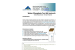 NECi Standard Range Water Phosphate Test Kit Instructions