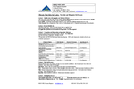 Test Tube Format and Microplate Format Nitrate Test Kits - Safety Data Sheet