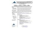 NTK-TTSR-25, NTK-TTSR-25S - Standard Range Test Tube Format Nitrate Test Kit - Brochure
