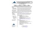 NTK-TTLR-25, NTK-TTLR-25S - Low Range Test Tube Format Nitrate Test Kit - Brochure