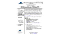 NTK-TTSR-100, NTK-TTSR-100S - Standard Range Test Tube Format Nitrate Test Kit - Brochure
