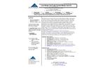 NTK-TTLR-100, NTK-TTLR-100S - Low Range Test Tube Format Nitrate Test Kit - Brochure