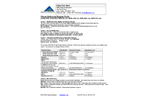 Nitrate Reductase Reagent Packs - Safety Data Sheet