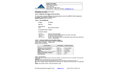 Phosphate Test Kits (All Formats) - Safety Data Sheet