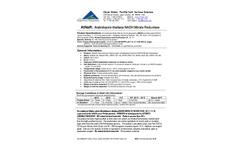 AtNaR: Arabidopsis thaliana NADH Nitrate Reductase - Specification Sheet