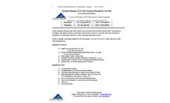 PTK-TTSR-25 - Standard Range Test Tube Format Phosphate Test Kit - Instruction