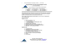 PTK-TTSR-100 Standard Range Test Tube Format Phosphate Test Kit - Instructions Sheet