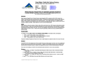 Nitrate Reductase Reagent Packs for Automated Laboratory Equipment - Brochure