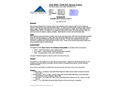 Nitrate Reductase Reagent Pack for Seal Discrete Analyzers - Brochure