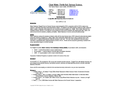 Nitrate Reductase Reagent Pack for Smartchem Discrete Analyzers - Brochure