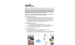 SCADA Nexus Client/Server Web Based Data Collection and Control Solution Brochure