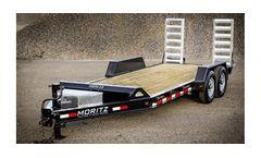 Moritz - Model ELH AR Series - Heavy Commercial Low Profile Equipment Trailer