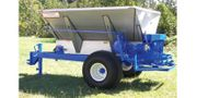 Ground Wheel Drive Pull-Type Fertilizer and Lime Spreader