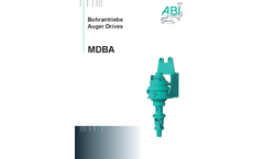 ABI - Model MDBA and RHP - Auger Drive Brochure