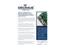 Decimus - Baseline - Passive Acoustic Monitoring Brochure