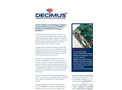 Decimus - Passive Acoustic Monitoring Systems (PAM) Brochure